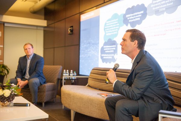 Taylor Lehmann and John Houston discuss cloud cybersecurity risk at CCM