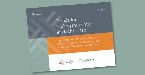 New Research on Trends for Scaling Innovation in Health Care