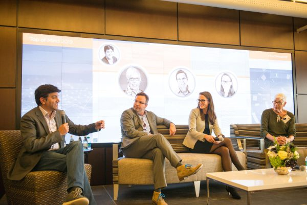 Aneesh Chopra, Steve Whitehurst, Karley Yoder, and Pamela Peele discuss predictive analytics in health care